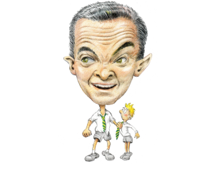 Christopher Pyne Caricature
