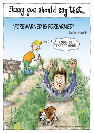 Forewarned