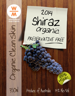 Shraz wine label designer